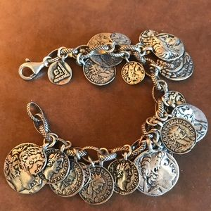 Silpada Vintage coin bracelet